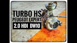Vlog#21 REMPLACEMENT TURBO PEUGEOT EXPERT 2.0 HDI