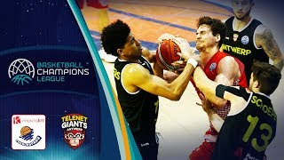 LIVE 🔴 - Montakit Fuenlabrada v Telenet Giants Antwerp - Basketball Champions League 2018-19
