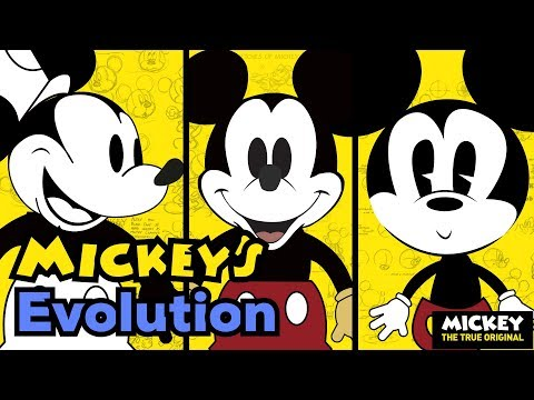 Mickey Through The Years