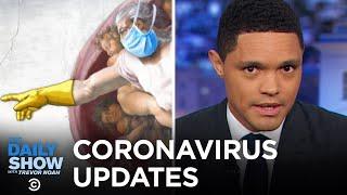 Coronavirus: Trump Visits the CDC & Italy Locks Down | The Daily Show