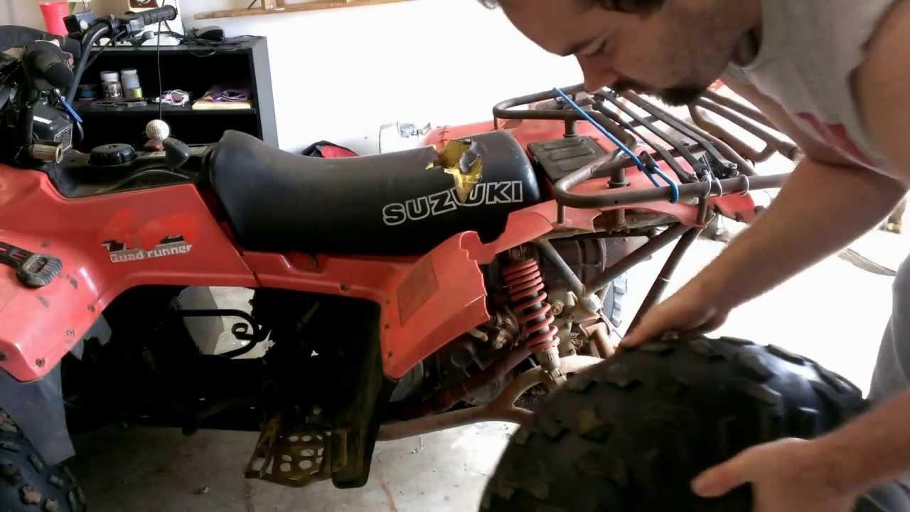 Suzuki lt 4wd bearing replacment
