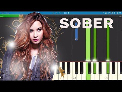 Demi Lovato - Sober - Piano Tutorial - How to Play Sober - Piano Parts