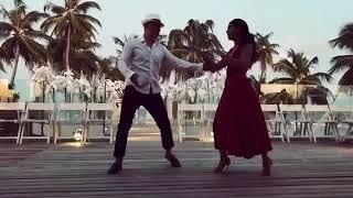 Нюша танцует с мужем (подготовка к свадьбе, 2017)