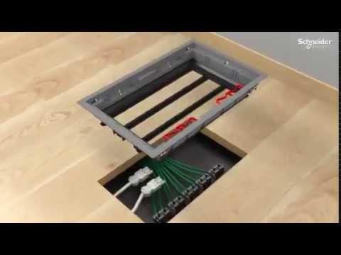 Schneider Optiline Floorbox Youtube