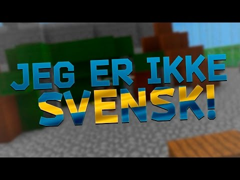 HAHA! JEG ER IKKE SVENSK! | Norsk Survival Games Tirsdag