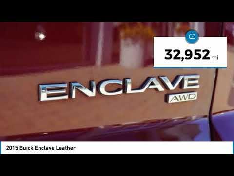 2015 Buick Enclave XB2180044D