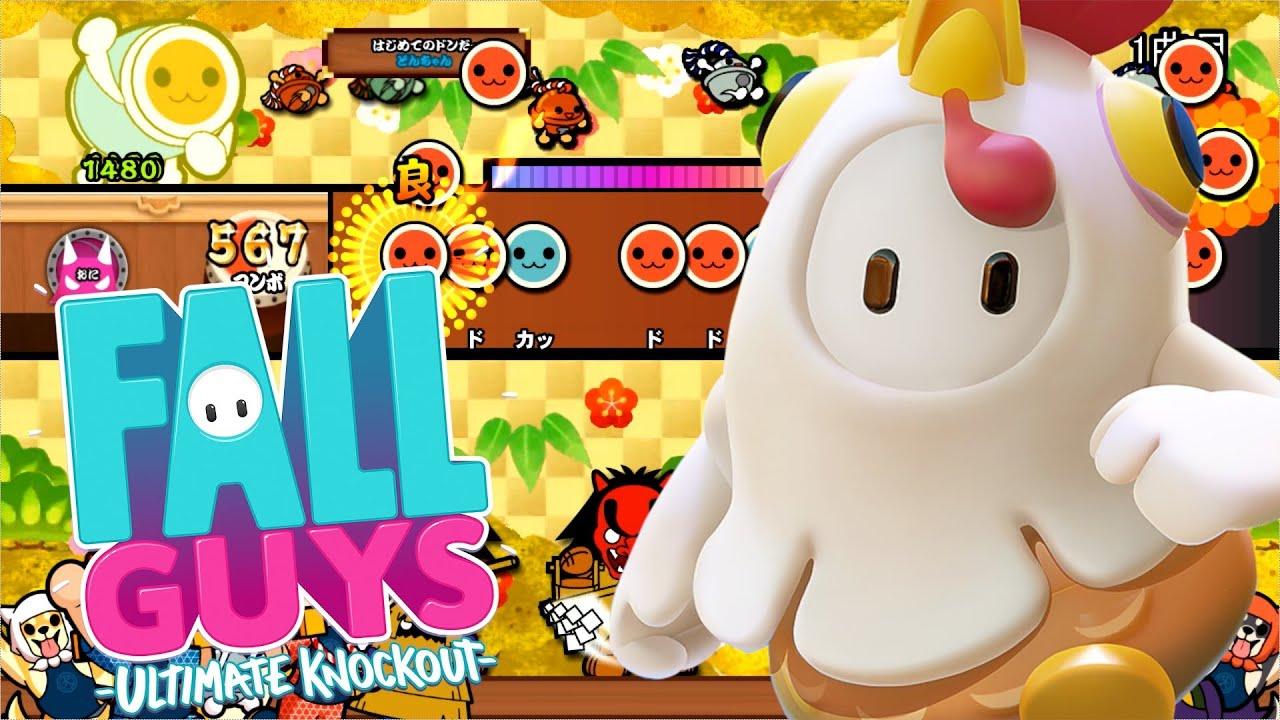 【Fall Guys】Fall 'N' Roll 創作譜面【TJAPlayer3】