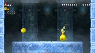 New Super Mario Bros. Wii - Monde 3 : Niveau 3-Tour