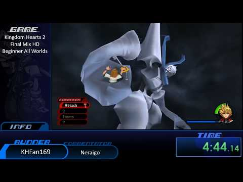 Kingdom Hearts Marathon II - KH2: Final Mix HD All Worlds by KHFan169