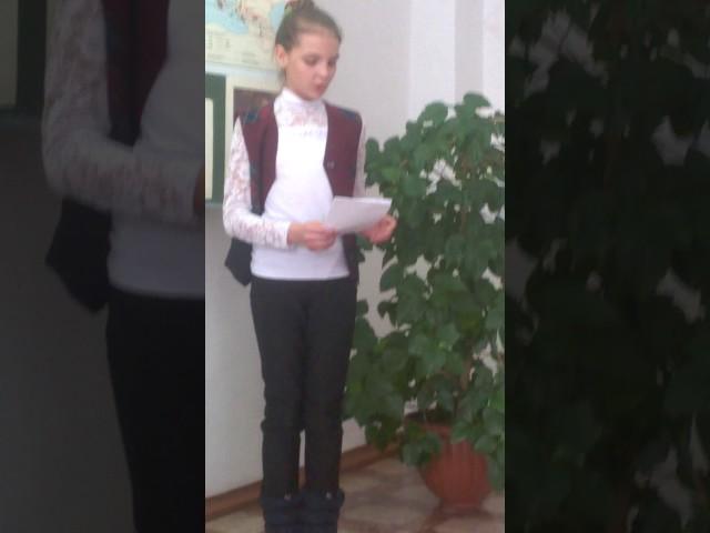 Изображение предпросмотра прочтения – КристинаКизилова читает произведение «Нате! (Через час отсюда вчистый переулок…)» В.В.Маяковского
