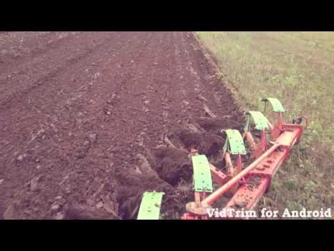 Massey ferguson 3690 kverneland 5 furrow plough
