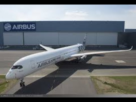 Vol d'entraînement A350 pour le Salon du Bourget 2017