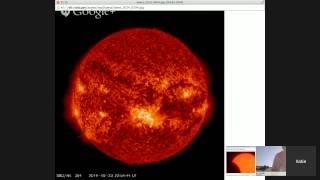 Partial Solar Eclipse Live! Part 2