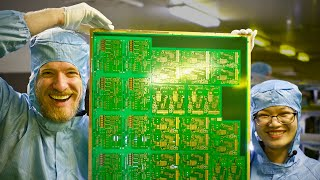 inside a huge pcb factory in china