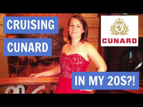 Cruising Cunard in my 20s?!