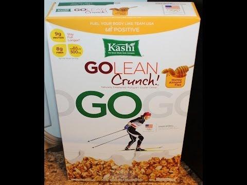Kashi Go Lean Crunch: Honey Almond Flax Food Review