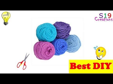 wool craft idea | useful diy project for your home | craft with yarn |  wool placemats | crochet |