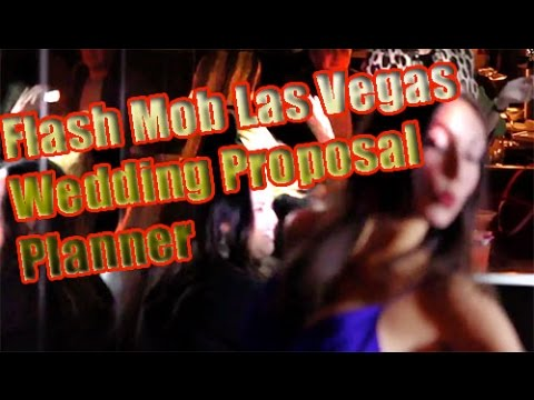 Flash Mob Las Vegas Wedding Proposal Planner and ideas W/ Video Production