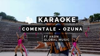 KARAOKE | Ozuna - Coméntale (Feat. Akon) (Instrumental Global Music)