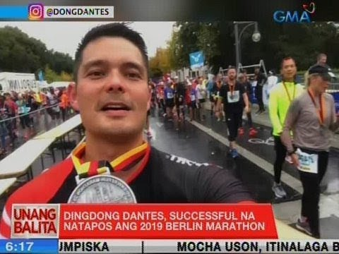UB: Dingdong Dantes, successful na natapos ang 2019 Berlin Marathon - 동영상
