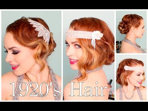 1920's Faux Bob, and Updo Tutorial!! thumbnail