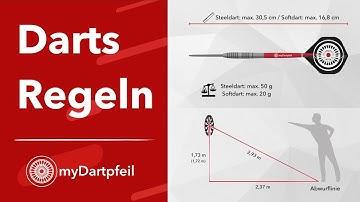 Die wichtigsten Darts Regeln - myDartpfeil