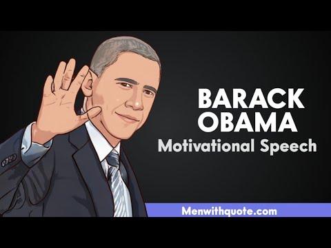 Barack Obama Motivational Speech (Motivational Speaker) | Motivational Speech | Menwithquote