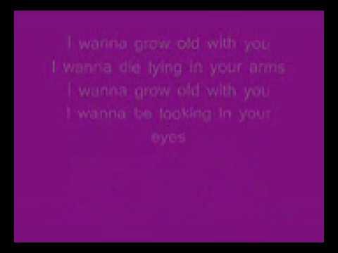 Dj Cammy - I Wanna Grow Old With You Lyrics