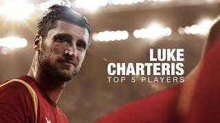 Top 5 Second Rows   Wales' Luke Charteris