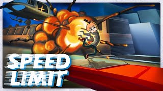 Speed Limit is a non-stop genre-warping arcade experience that never slows down.