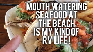 MOUTHWATERING RV LIFE ON THE BEACH AGAIN!