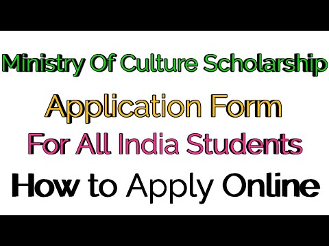 Ministry Of Culture Scholarship 2019 For All students blog_14