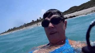 № 963 США Каменный пляж ПОДВОДНАЯ СЪЕМКА РЫБКИ КОРАЛЛЫ Jupiter Island Fl