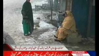 Malam Jabba Snow Fall Swat Valley Pakistan Sherin Zada Express News Swat