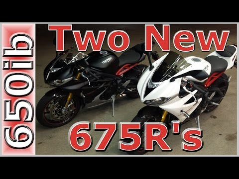 New Bike~Triumph Daytona R | Dual st Ride & Review