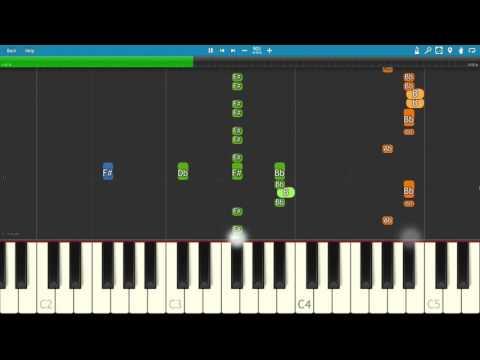 CHVRCHES ft. Hayley Williams - Bury It - Piano Tutorial