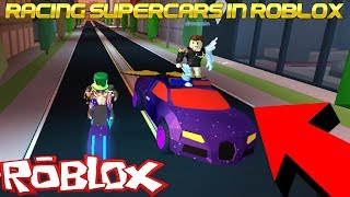 RACING SUPER CARS IN ROBLOX | WINNER GETS 10k | WHERE IS THE NEW UPDATE? | 🔴 LIVE