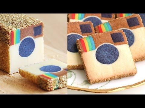 Instagram Cookies Slice & Bake!