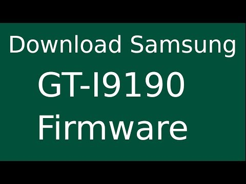 How To Download Samsung Galaxy S4 Mini GT-I9190 Stock Firmware (Flash File) For Update Device