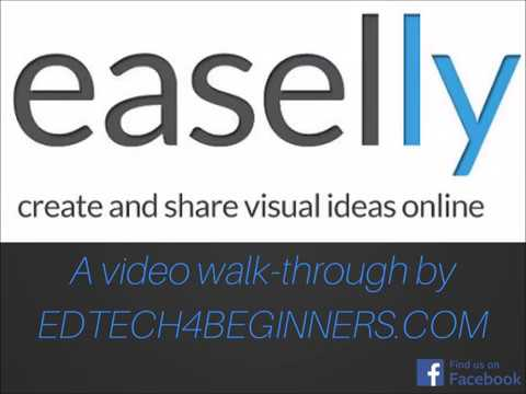 Easelly : create and share visual ideas online - a video walk-through
