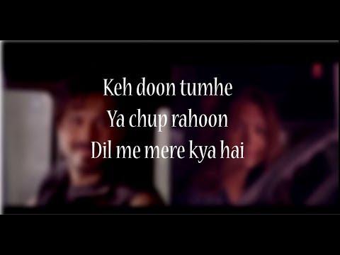 (LYRiCS)Socha Hai Lyrical Video – Baadshaho | Imran Hashmi | Esha Gupta