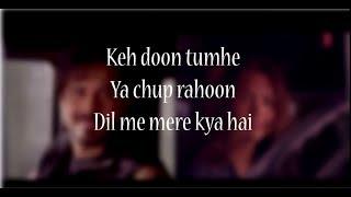 Gambar cover (LYRiCS)Socha Hai Lyrical Video – Baadshaho | Imran Hashmi | Esha Gupta