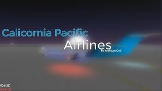 Roblox California Pacific Airlines | Flight CRJ