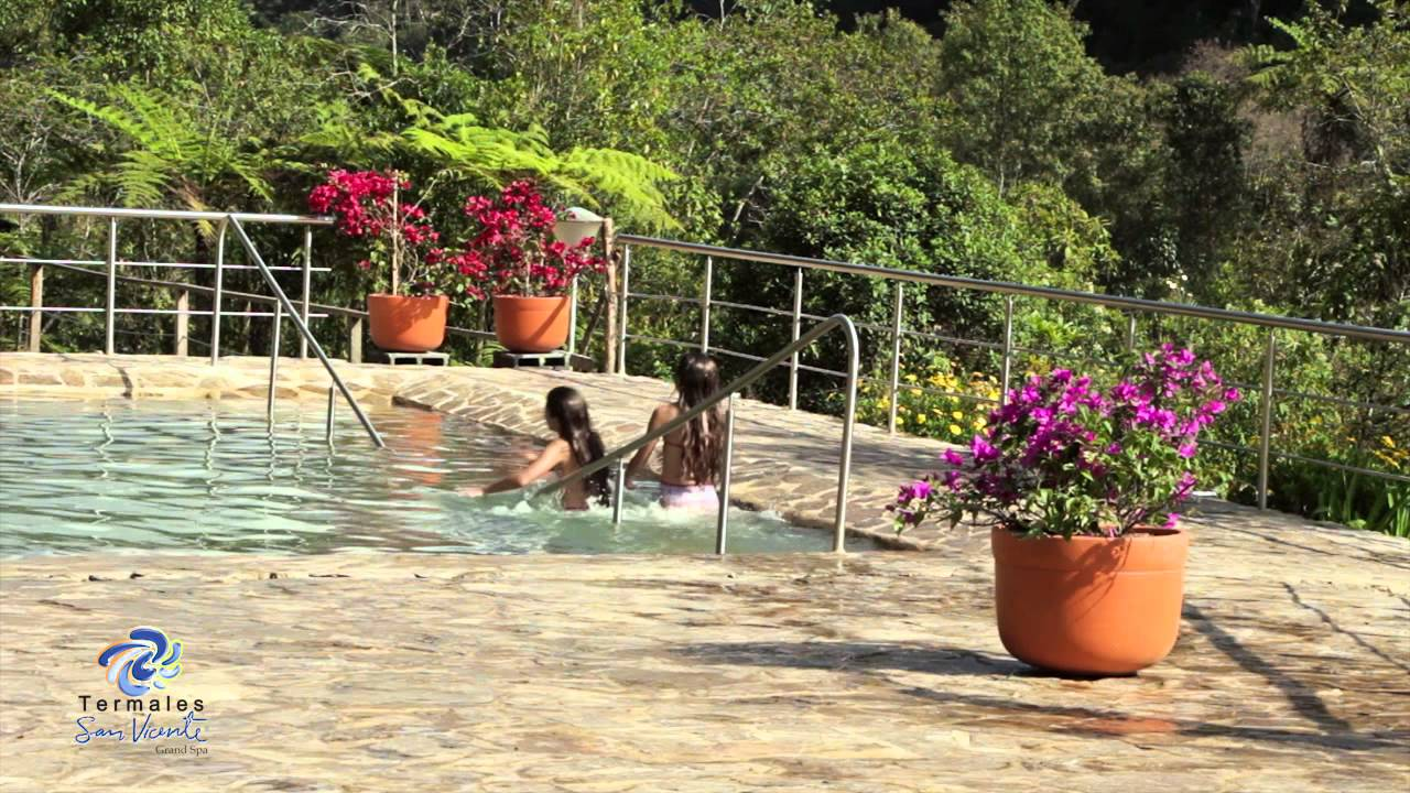 Clip piscina nuevas termales san vicente eje cafetero for Piscinas termales