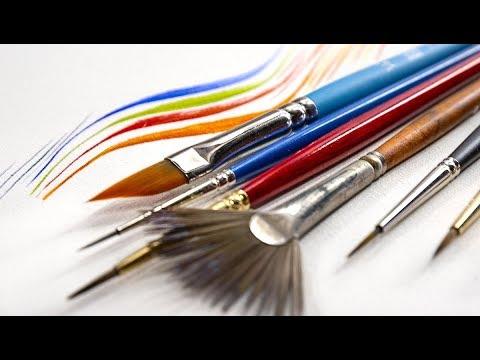 The Best Brush For Fine Details Not A Liner Brush