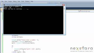 SharePoint Developer Training Course - Programming C# 4.0 Lesson Fourteen - Do While and For Loop