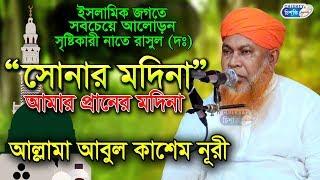 সোনার মদিনা আমার প্রানের মদিনা   SONAR MADINA   আবুল কাশেম নুরী   ইসলামিক গজল   Chisty bd