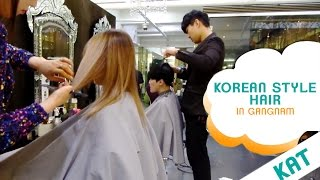 One of BiiBiiBap's most viewed videos: KOREAN STYLE HAIR IN GANGNAM
