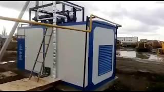 Автономна газопоршневая станція для логістичного центру (постачальник Завод КЕС)