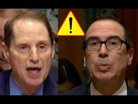 Senator Ron Wyden Viciously Attacks Treasury Secretary Steven Mnuchin